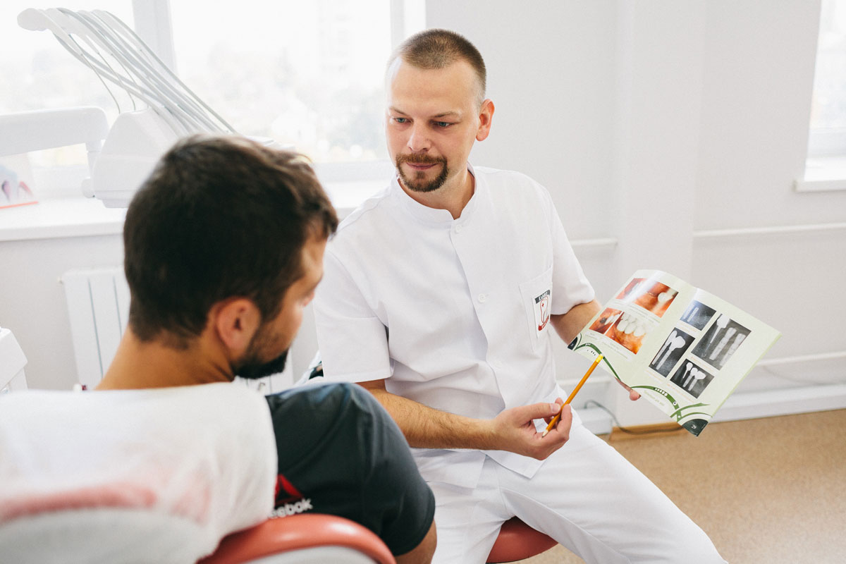зубна імплантація - стоматологія Житомир