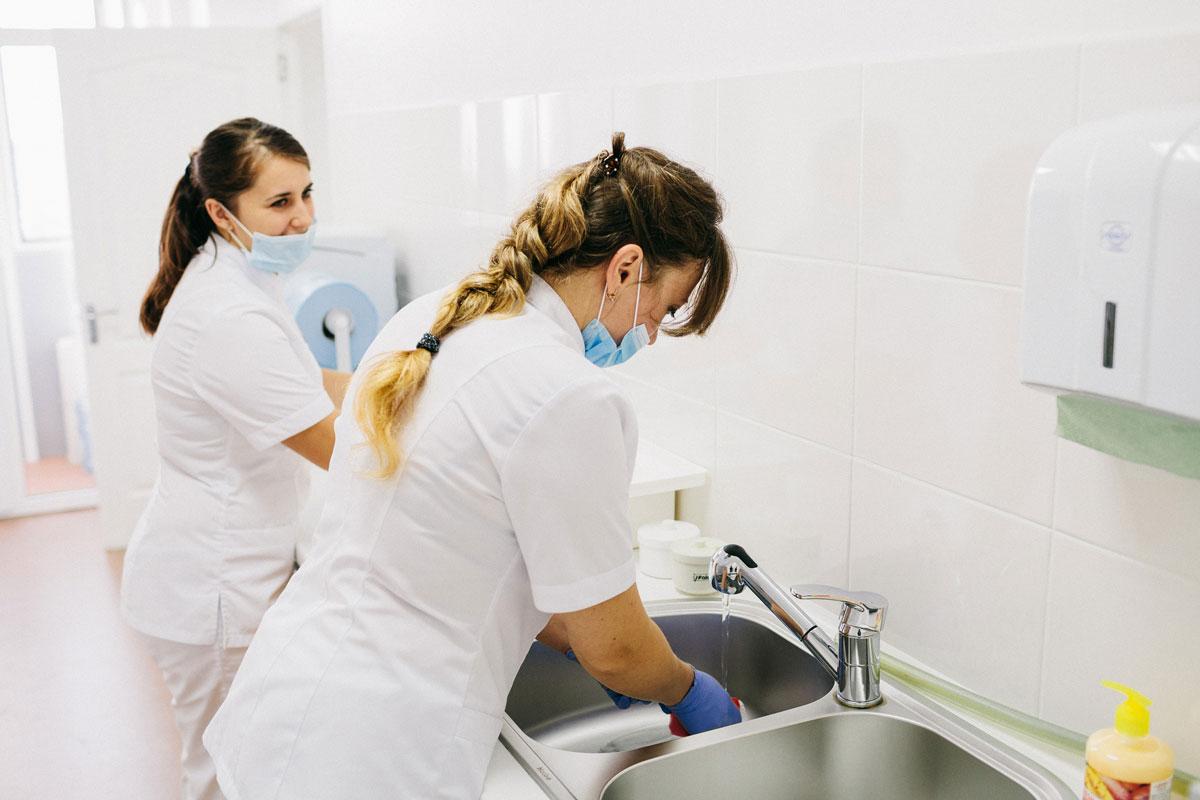 Чистота та безпека стоматологічного кабінету